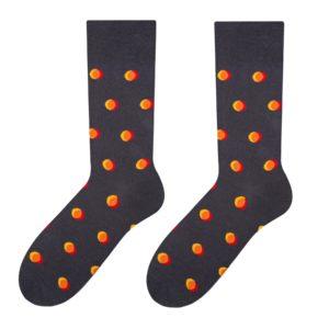 8c694fe137fcff modne kolorowe skarpetki w kropki Wybierz rozmiar · Skarpety w pomarańczowe  kropki
