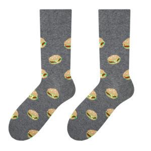 męskie skarpety w burgery