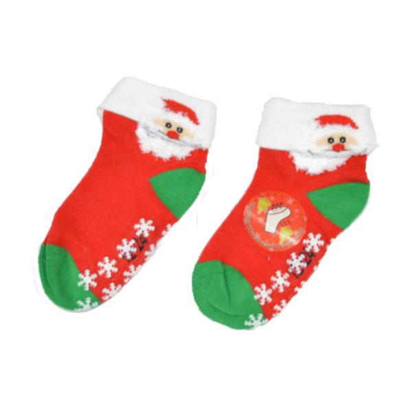 skarpetki świąteczne dla dziecka 3d