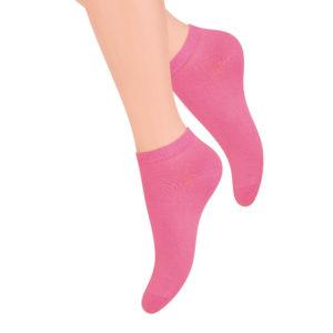 kolorowe stopki damskie różowe